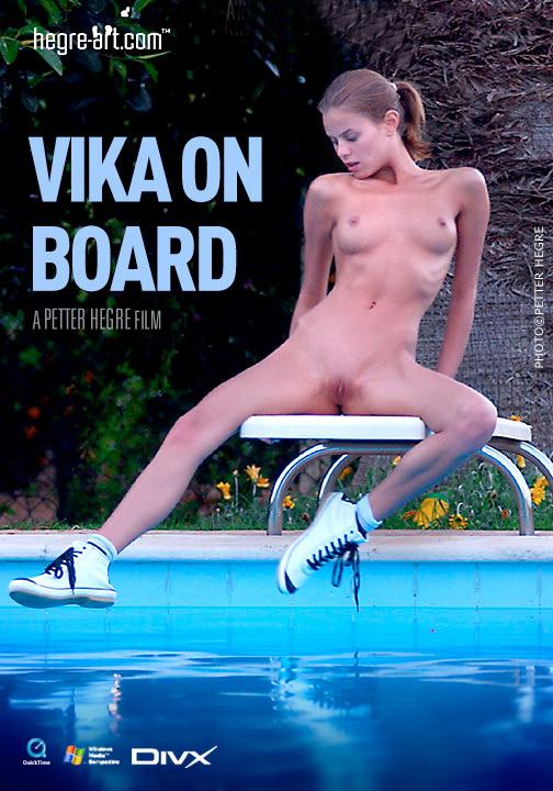 Vika - `#36 - Vika on Board` - by Petter Hegre for HEGRE-ART VIDEO