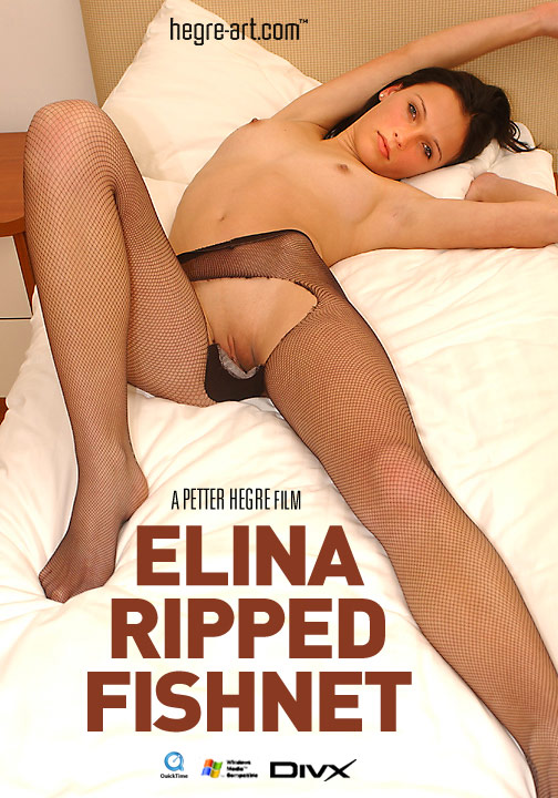 Elina - `#38 - Ripped Fishnet` - by Petter Hegre for HEGRE-ART VIDEO