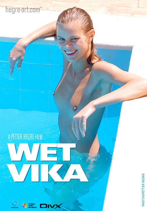 Vika - `#43 - Wet Vika` - by Petter Hegre for HEGRE-ART VIDEO