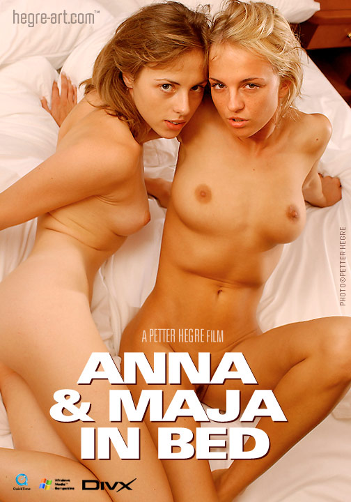 Anna & Maja - `#49 - In Bed` - by Petter Hegre for HEGRE-ART VIDEO