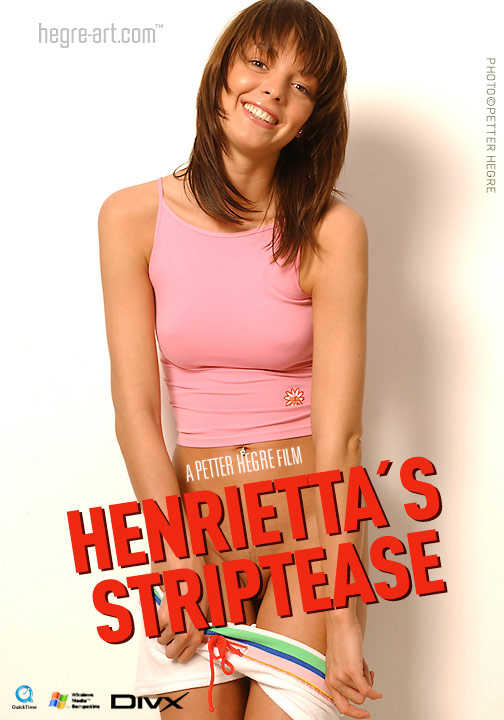 Henrietta - `#58 - Striptease` - by Petter Hegre for HEGRE-ART VIDEO