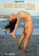 Anahi in #69 - Nude Beach Yoga video from HEGRE-ART VIDEO by Petter Hegre