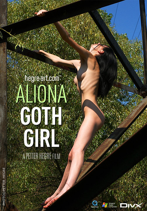 Aliona - `#81 - Goth Girl` - by Petter Hegre for HEGRE-ART VIDEO