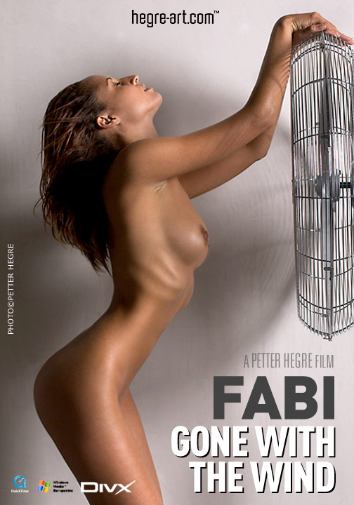 Fabi - `#85 - Gone With The Wind` - by Petter Hegre for HEGRE-ART VIDEO