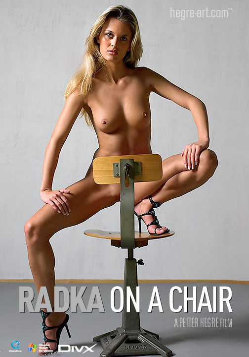 Radka - `#86 - On A Chair` - by Petter Hegre for HEGRE-ART VIDEO