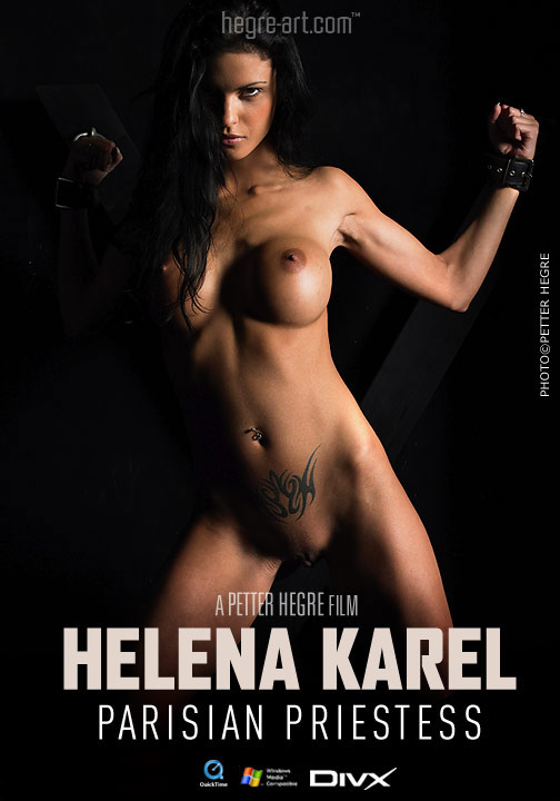 Helena Karel - `#90 - Parisian Priestess` - by Petter Hegre for HEGRE-ART VIDEO
