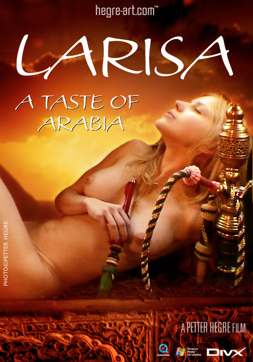 Larisa - `#94 - A Taste of Arabia` - by Petter Hegre for HEGRE-ART VIDEO