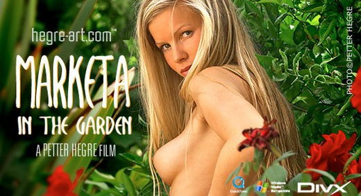 Marketa - `#101 - In the Garden` - by Petter Hegre for HEGRE-ART VIDEO