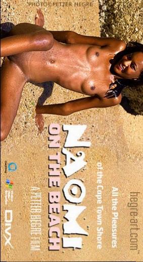Naomi - `#109 - On the Beach` - by Petter Hegre for HEGRE-ART VIDEO