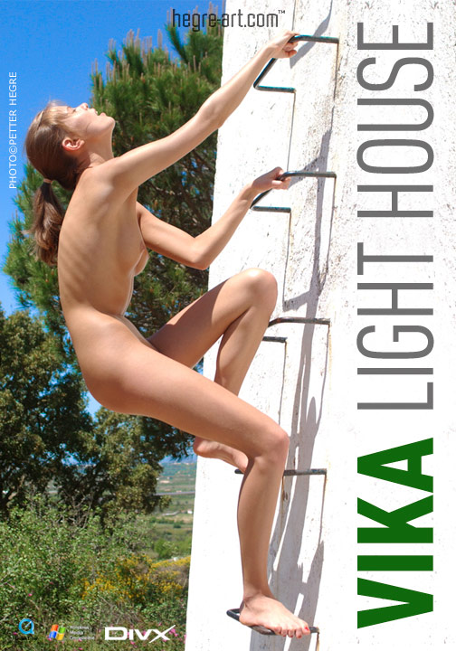 Vika - `#114 - Light House` - by Petter Hegre for HEGRE-ART VIDEO