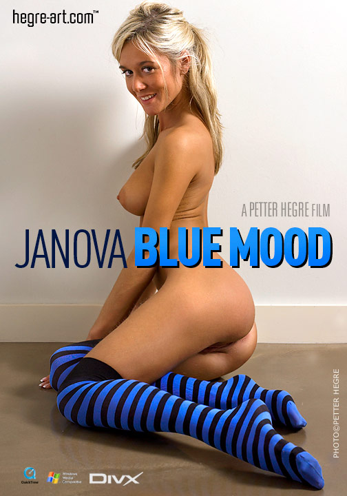 Janova - `#118 - Blue Mood` - by Petter Hegre for HEGRE-ART VIDEO