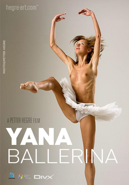 Yanna - `#120 - Ballerina` - by Petter Hegre for HEGRE-ART VIDEO