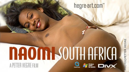 Naomi - `#124 - South Africa` - by Petter Hegre for HEGRE-ART VIDEO