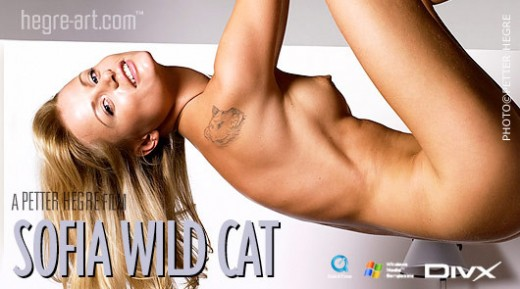 Sofia - `#125 - Wild Cat` - by Petter Hegre for HEGRE-ART VIDEO