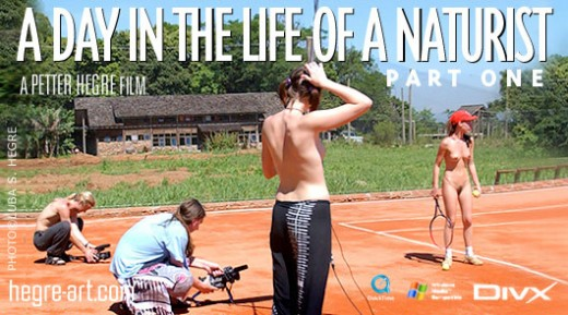 Carina - `#126 - A Day In The Life Of A Naturist - Part 1` - by Petter Hegre for HEGRE-ART VIDEO