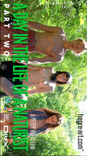 Carina - `#131 - A Day In The Life Of A Naturist - Part 2` - by Petter Hegre for HEGRE-ART VIDEO