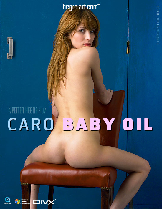 Caro - `#132 - Baby Oil` - by Petter Hegre for HEGRE-ART VIDEO