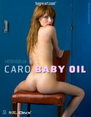 Caro in #132 - Baby Oil video from HEGRE-ART VIDEO by Petter Hegre
