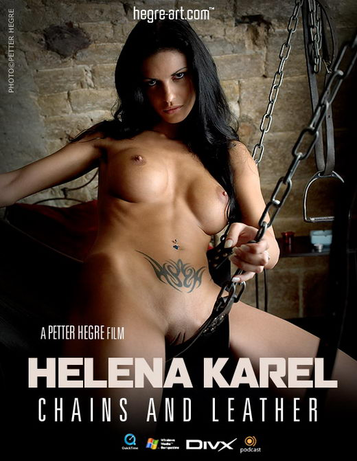 Helena Karel - `#137 - Chains And Leather` - by Petter Hegre for HEGRE-ART VIDEO