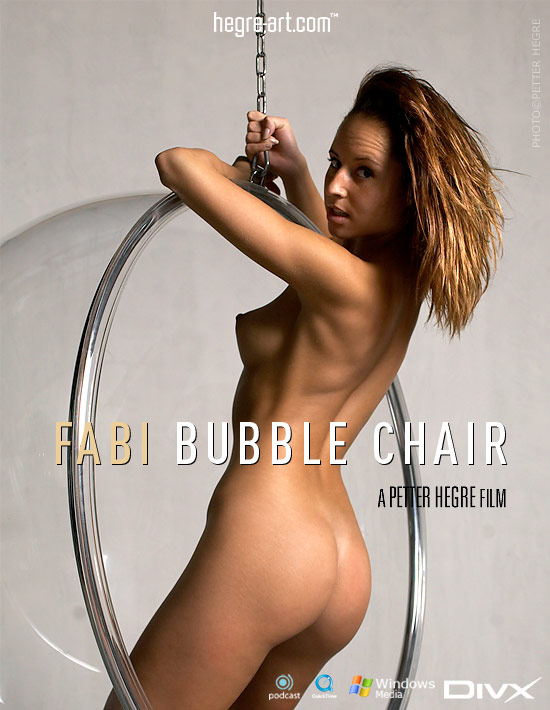 Fabi - `#138 - Bubble Chair` - by Petter Hegre for HEGRE-ART VIDEO