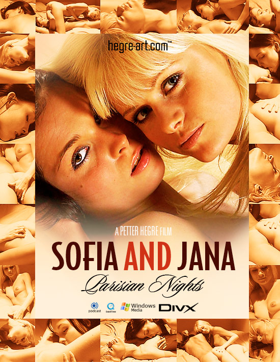 Sofia & Jana - `#141 - Parisian Nights` - by Petter Hegre for HEGRE-ART VIDEO