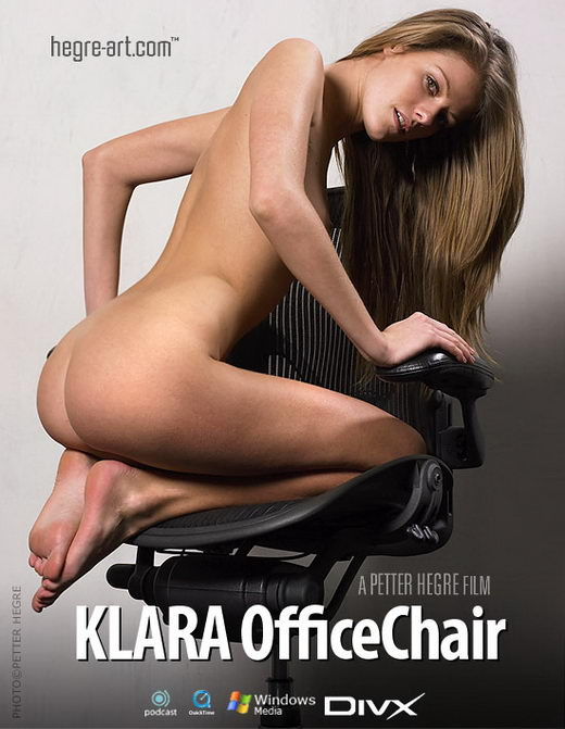 Klara - `#147 - Office Chair` - by Petter Hegre for HEGRE-ART VIDEO