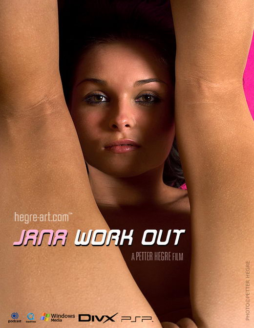 Jana - `#151 - Workout` - by Petter Hegre for HEGRE-ART VIDEO