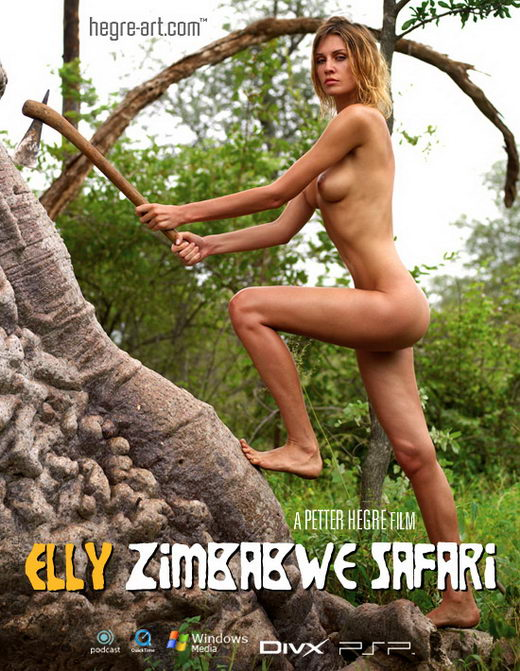 Elly - `#153 - Zimbabwe Safari` - by Petter Hegre for HEGRE-ART VIDEO