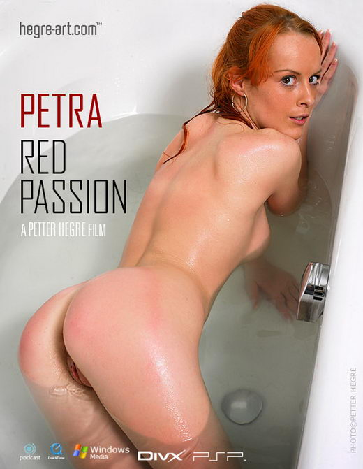 Petra - `#156 - Red Passion` - by Petter Hegre for HEGRE-ART VIDEO