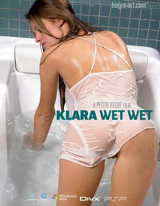 Klara - `#162 - Wet Wet` - by Petter Hegre for HEGRE-ART VIDEO