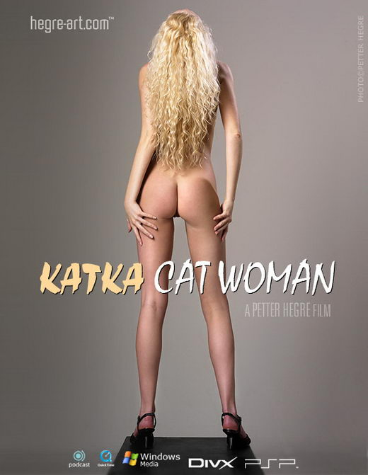 Katka - `#165 - Cat Woman` - by Petter Hegre for HEGRE-ART VIDEO