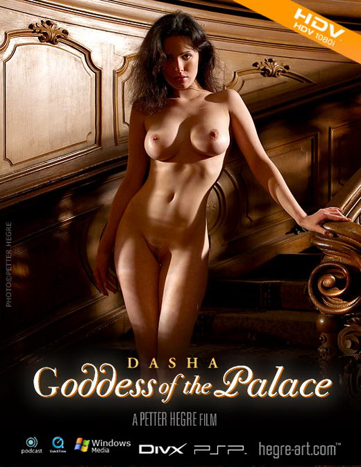 Dasha - `#167 - Goddess of the Palace` - by Petter Hegre for HEGRE-ART VIDEO