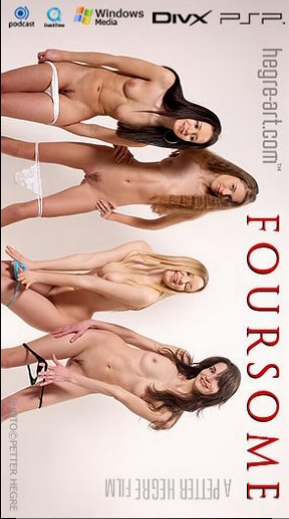 Alya - `#175 - Foursome` - by Petter Hegre for HEGRE-ART VIDEO