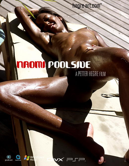 Naomi - `#177 - Pool Side` - by Petter Hegre for HEGRE-ART VIDEO
