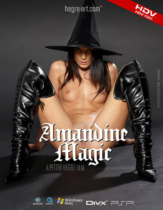 Amandine - `#179 - Magic` - by Petter Hegre for HEGRE-ART VIDEO