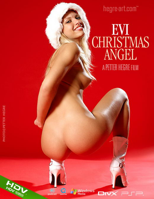 Evi - `#186 - Christmas Angel` - by Petter Hegre for HEGRE-ART VIDEO