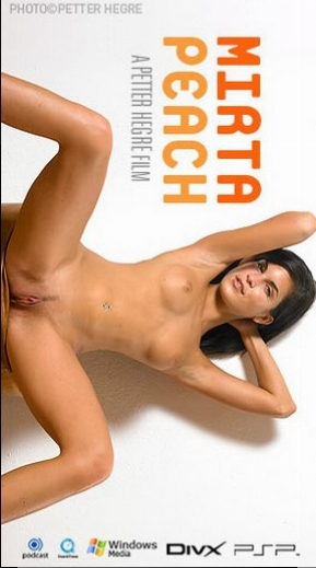 Mirta - `#192 - Peach` - by Petter Hegre for HEGRE-ART VIDEO