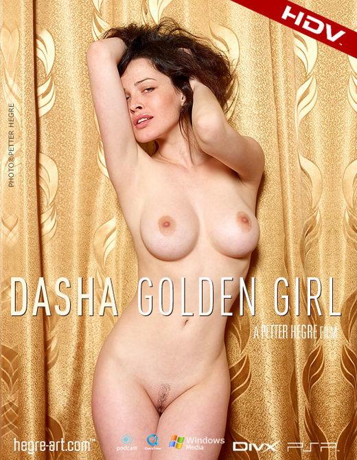 Dasha - `#200 - Golden Girl` - by Petter Hegre for HEGRE-ART VIDEO