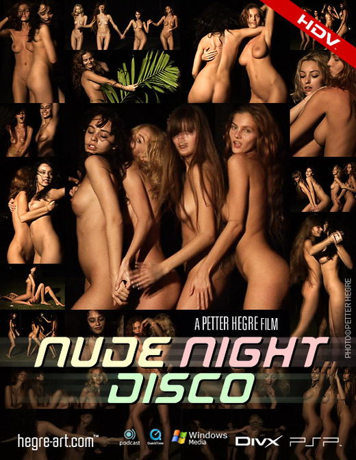 Angelica & Paulina & Linda L - `#204 - Nude Night Disco` - by Petter Hegre for HEGRE-ART VIDEO