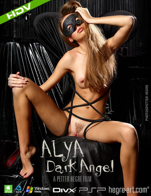 Alya - `#231 - Dark Angel` - by Petter Hegre for HEGRE-ART VIDEO