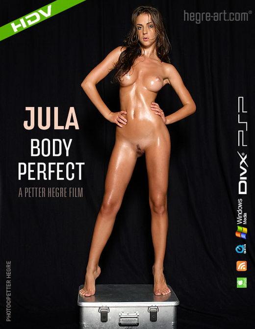Jula - `#233 - Body Perfect` - by Petter Hegre for HEGRE-ART VIDEO
