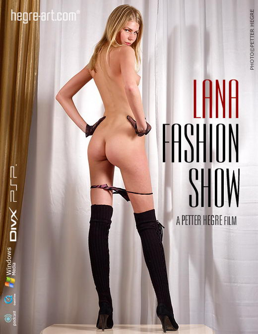Lana - `#235 - Fashion Show` - by Petter Hegre for HEGRE-ART VIDEO