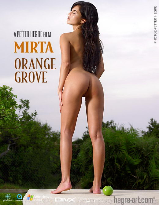 Mirta - `#240 - Orange Grove` - by Petter Hegre for HEGRE-ART VIDEO