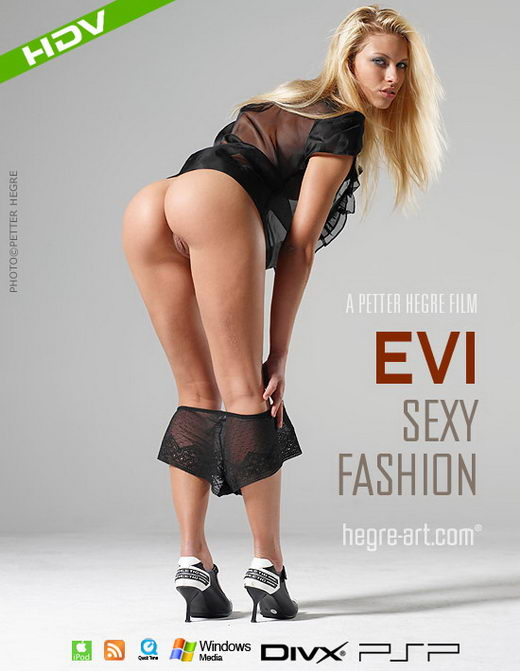 Evi - `#241 - Sexy Fashion` - by Petter Hegre for HEGRE-ART VIDEO