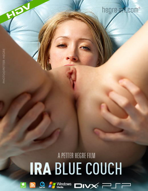 Ira - `#244 - Blue Couch` - by Petter Hegre for HEGRE-ART VIDEO