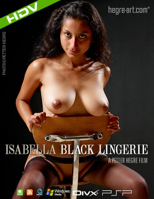 Isabella - `#262 - Black Lingerie` - by Petter Hegre for HEGRE-ART VIDEO