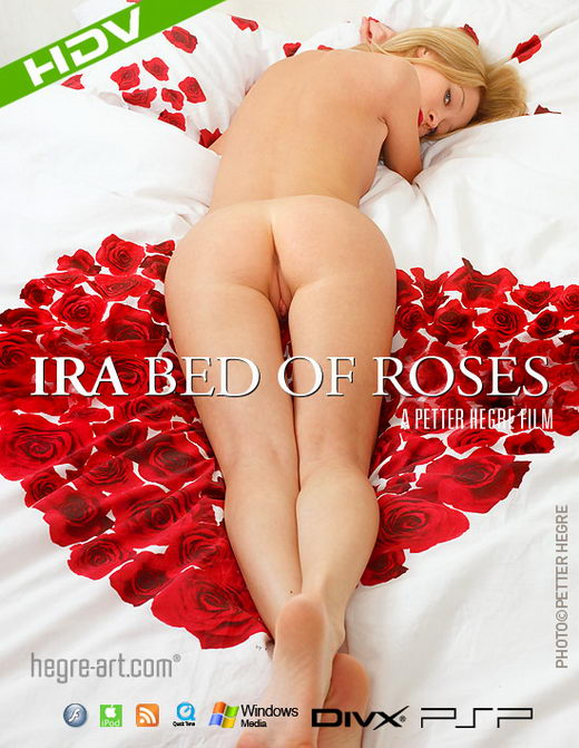 Ira - `#264 - Bed of Roses` - by Petter Hegre for HEGRE-ART VIDEO