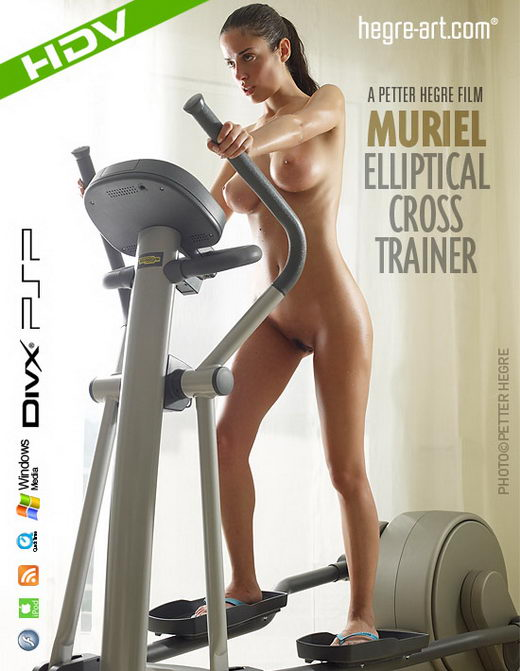 Muriel - `#268 - Elliptical Cross Trainer` - by Petter Hegre for HEGRE-ART VIDEO