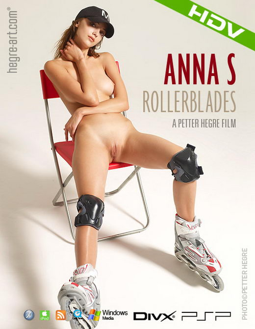 Anna S - `#286 - Roller Blades` - by Petter Hegre for HEGRE-ART VIDEO