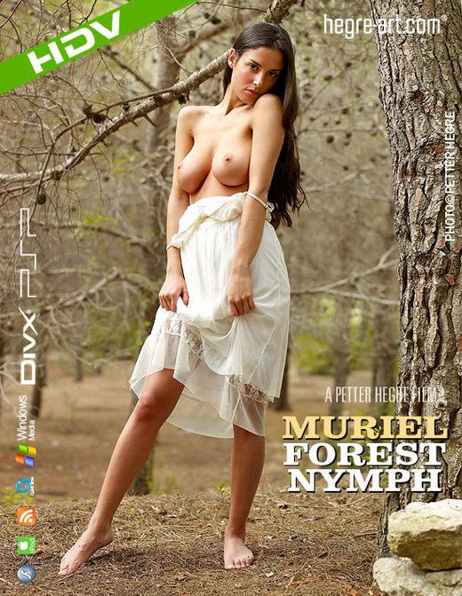 Muriel - `#296 - Forest Nymph` - by Petter Hegre for HEGRE-ART VIDEO